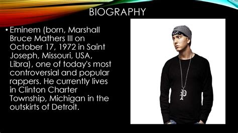 biography eminem english eminem презентация онлайн