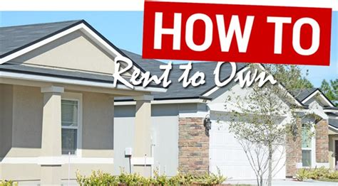 real estate rent to own houses success with the rent to own model
