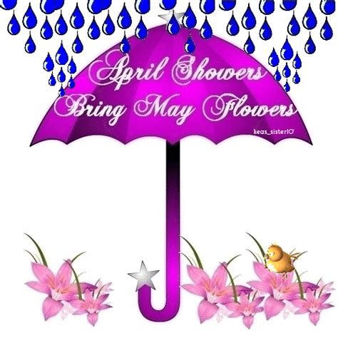 April Showers Bring May Flowers Poem by Jp At Olive Garden Poetry Picnic Week 29 And