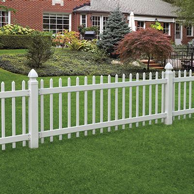 composite mixed material fence ideas for eichlers other mcm homes learn everything about fences at the home depot