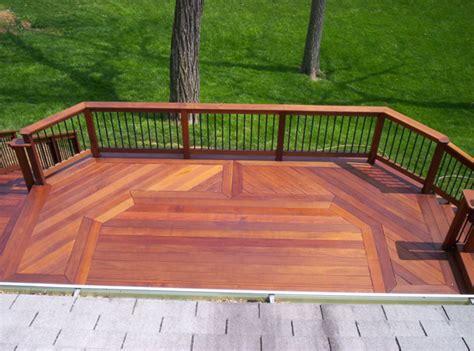 Wood Decking by Wood Decks Wooden Deck Builder Arundel County Mid