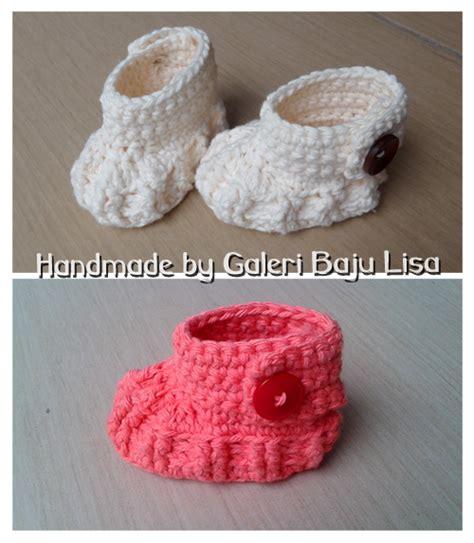 sepatu bayi rajut handmade babies crochet shoes ibuhamil