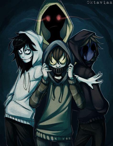 imagenes de jack creepypasta creepypasta hoodie squad speedpaint by 0ktavian on