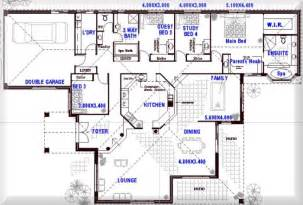 One Story Open Floor Plans With 4 Bedrooms Australian 4 Bedroom 3 Bathroom House Plans Australia