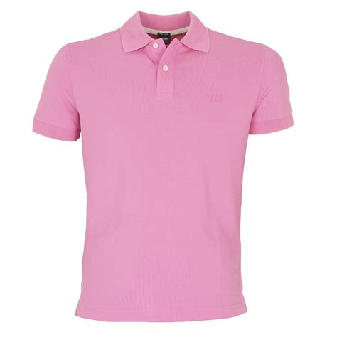Pink Shirt hugo firenze polo shirt in bright pink