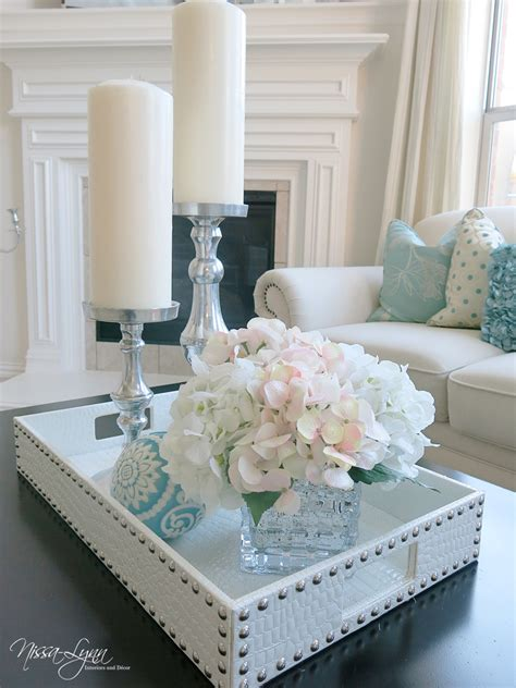 how to decorate a table nissa lynn interiors holiday coffee table decor
