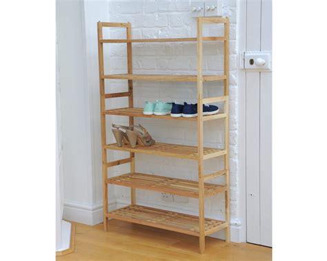 stackable shoe rack  walnut futon company
