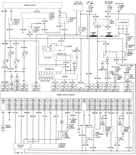 wiring diagram 92 toyota wiring diagram