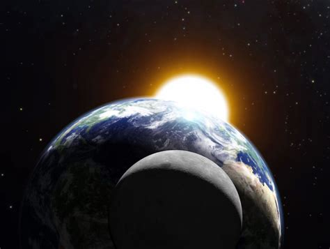 Earth Moon And Sun earth and moon period of change ask amma