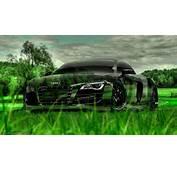 R8 Cristal Audi Natureza Tony Kokhan Verde Grama Carro El