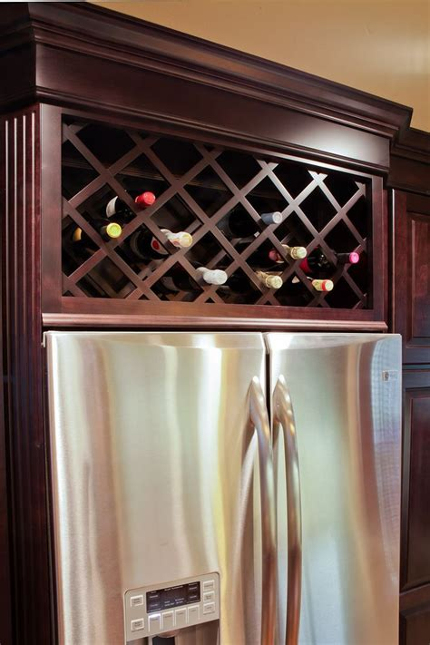 Wine Rack Kitchen Cabinet by Kitchen Cabinets Top Wine Rack Search Home