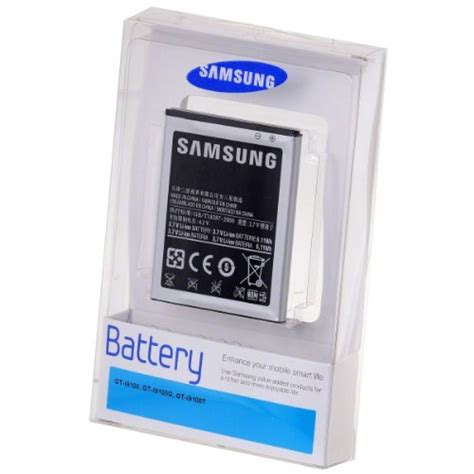 Produk Istimewa Original100 Baterai For Samsung Galaxy S2 I9100 accessories samsung galaxy s2 i9100 battery