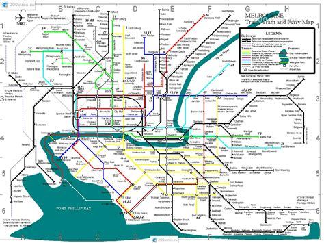 skhema metro melburna melbourne metro map
