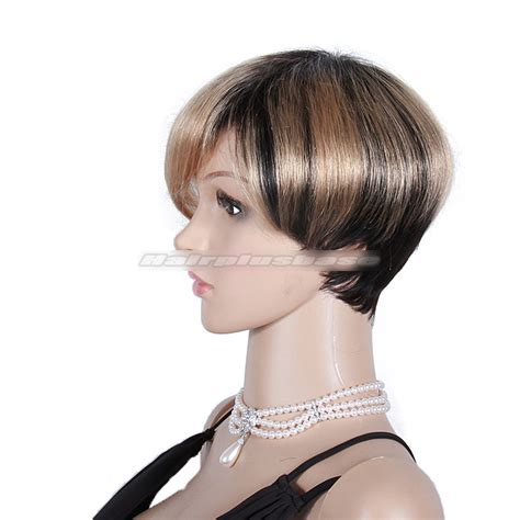 fabulous short hair styles fabulous short ombre bob hairstyle with layers human hair