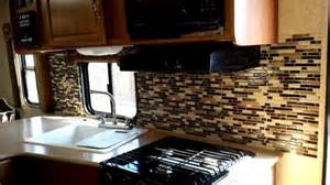 what backsplash tiles can be installed in a rv