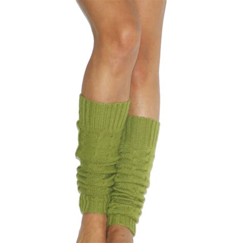 cable knit leg warmers cable knit verde leg warmers twittentwitten