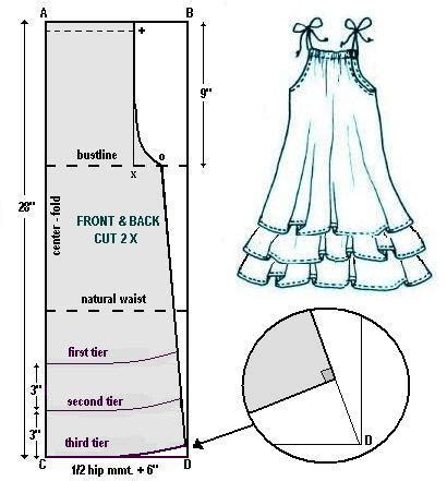 pattern drafting for dolls baby doll summer style weekend designer