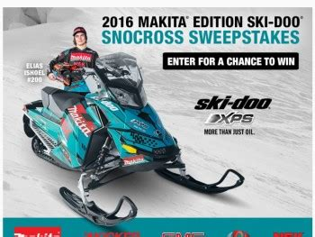 Snowmobile Sweepstakes - makita ski doo snocross sweepstakes sweepstakes fanatics
