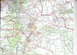 Oregon Map Google by Bear Creek Valley Ranch Maps