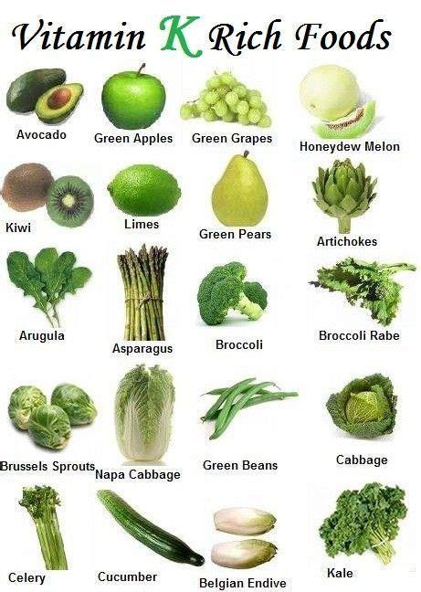 vegetables low in vitamin k 1000 ideas about vitamin k foods on vitamin k