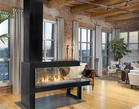 room divider fireplace lucius 140 room divider penninsula style modern gas fireplace