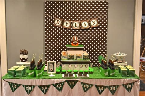 football themed baby shower decorations 323 best images about tables on mesas