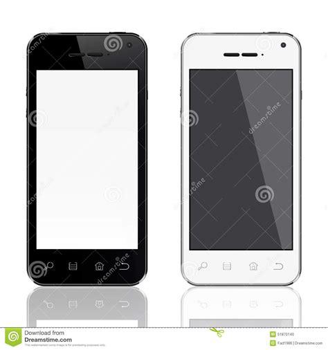 stock mobili realistic mobile phone template stock illustration image