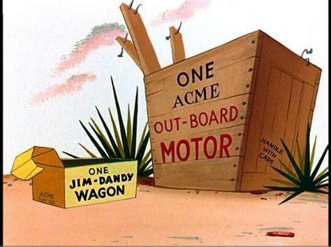 Acme out-board motor & jim-dandy wagon | as shown in ...