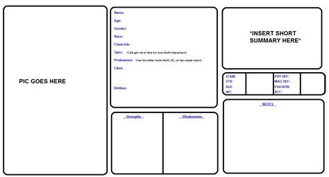 character sheet template out of darkness