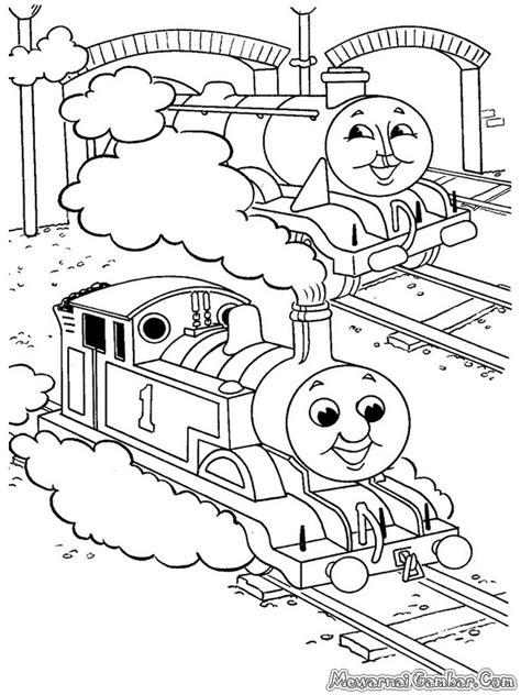 Gorden Karakter Tayo mewarnai kereta and friends mewarnai gambar