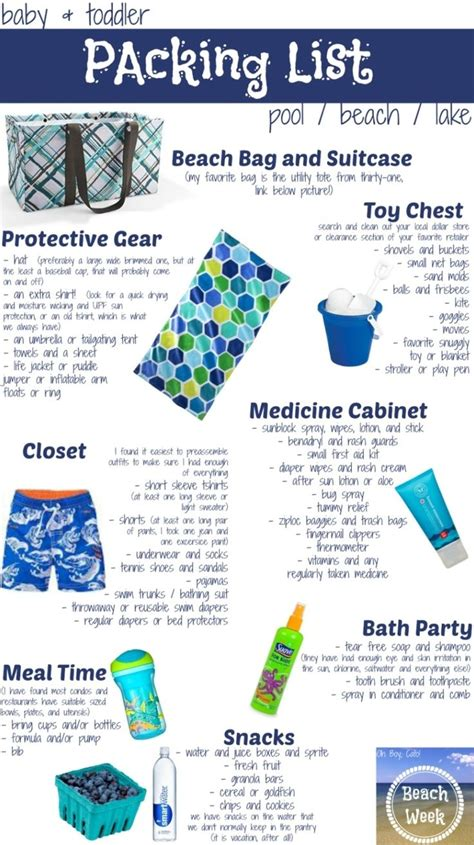 packing list for beach vacation gse bookbinder co