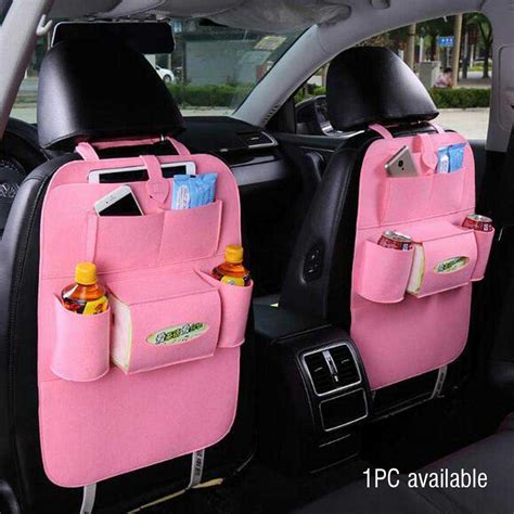 Auto Car Organizer Hmb016 auto car back seat organizer holder multi pocket travel storage bag hanger ebay