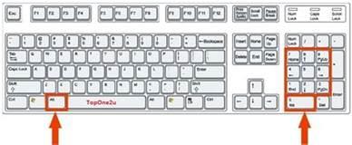 keyboard shortcuts to make symbols using alt key top one