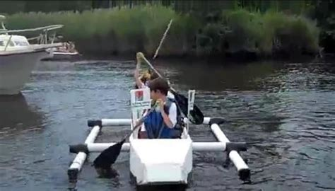 cardboard boat online video cardboard boat race draws thousands downtown