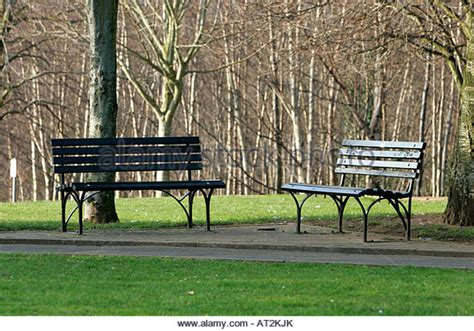 park with bench public park benches stock photos public park benches stock images alamy