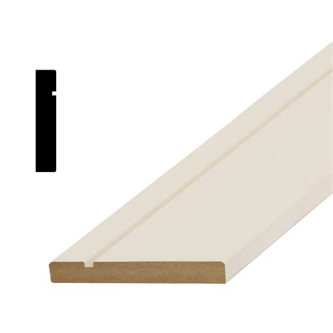 mdf home depot american wood moulding wm444 5 8 in x 3 1 8 in primed mdf colonial casing moulding 444 mdf