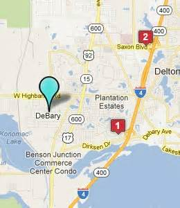 debary florida map debary fl hotels motels see all discounts