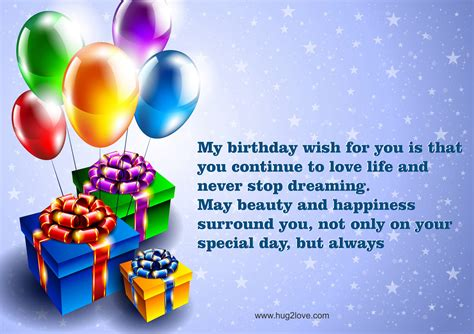 Happy Birthday Wishes Letter Happy Birthday Wishes With Images Hug2love