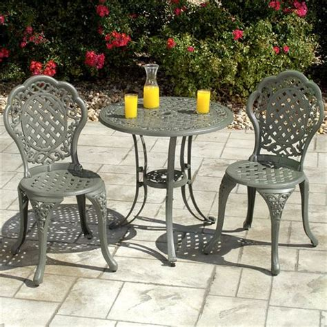 Iron Bistro Table Set Furniture Gt Outdoor Furniture Gt Iron Gt Wrought Iron Bistro Sets