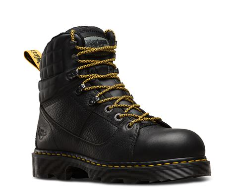 Drfaris Treking Safety Shoes camber steel toe industrial boots official dr martens store