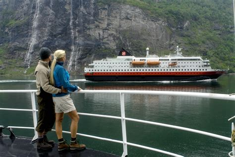 boat service norway hurtigruten cruise to trondheim norway fjord tours