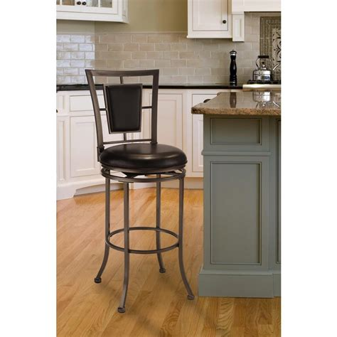 bar top finish home depot southern enterprises harper 30 in dark chagne swivel
