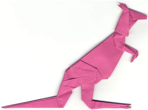 Origami Kangaroo Easy - croatian craft