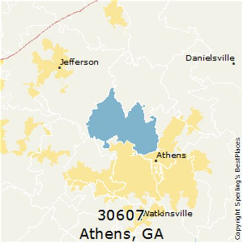 what is the valid zip code for nigeria pls help best places to live in athens zip 30607 georgia
