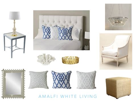 All White Home Interiors by How To Create A Hamptons Style Bedroom Amalfi White Living