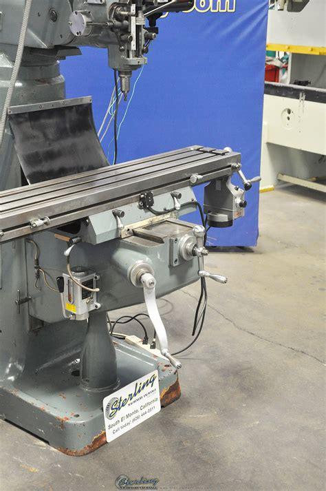 msc vertical milling machine sterling machinery