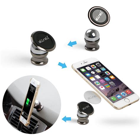 Magnet Stand Holder allreli universal magnetic car cell phone mounts holder