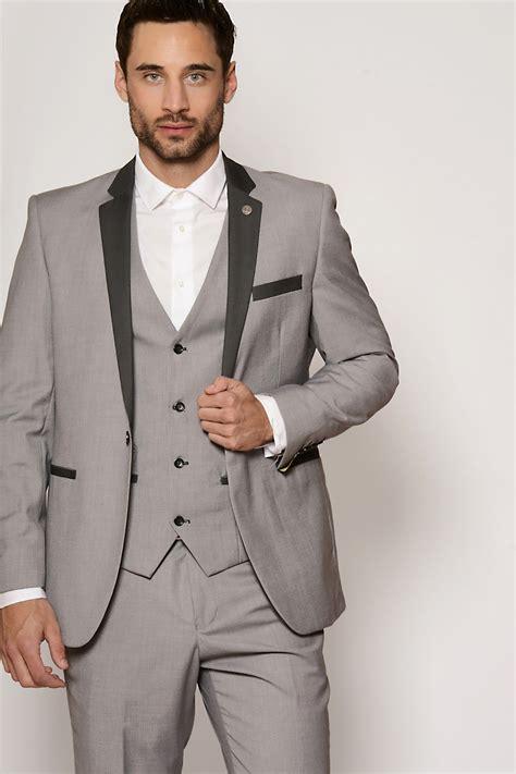 light grey 3 piece suit grey suit three piece suit smart mens marc darcy