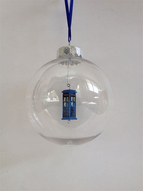 tardis christmas ornament doctor who christmas ornament