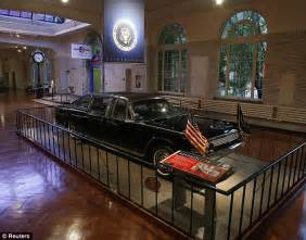 what year was lincoln assasinated jfk s lincoln continental convertible on display for 50th
